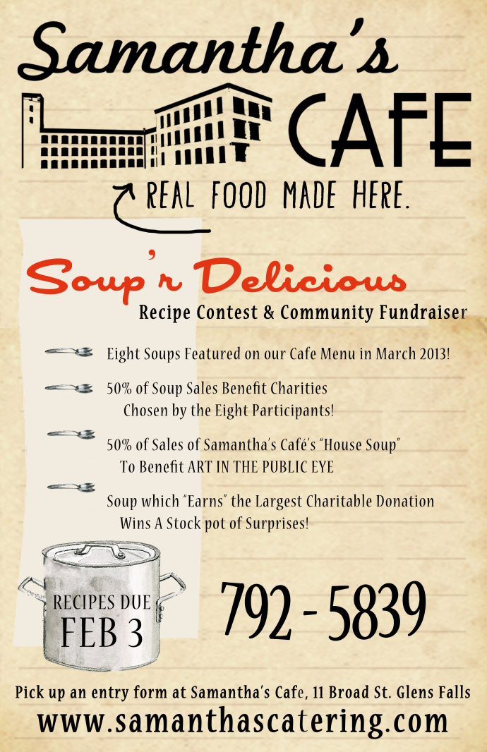 Sam's Soup Flier copy